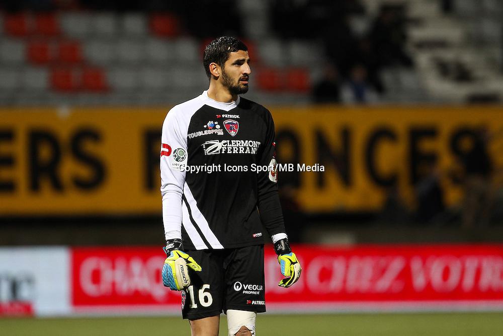 Mehdi JEANNIN - 19.12.2014 - Nancy / Clermont - 18e journee Ligue 2<br />Photo : Fred Marvaux / Icon Sport