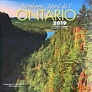 PRODUCT: Calendar<br /> TITLE: Northern Ontario Wall 2019<br /> CLIENT: Wyman Publications / Browntrout Canada