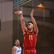 Canton Charge Guard QUINN COOK (11) attempts a jump shot in the second half of a NBA D-league regular season basketball game between the Delaware 87ers and the Canton Charge Tuesday, JAN, 26, 2016 at The Bob Carpenter Sports Convocation Center in Newark, DEL.