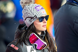 21.01.2018, Olympia delle Tofane, Cortina d Ampezzo, ITA, FIS Weltcup Ski Alpin, Super G, Damen, im Bild Anna Veith (AUT) // Anna Veith of Austria reacts after ladie' s SuperG of the Cortina FIS Ski Alpine World Cup at the Olympia delle Tofane course in Cortina d Ampezzo, Italy on 2018/01/21. EXPA Pictures © 2018, PhotoCredit: EXPA/ Dominik Angerer