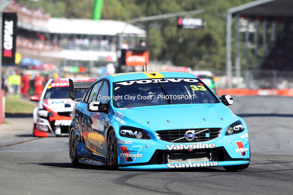 Scott McLaughlin (Valvoline Racing GRM Volvo). 2014 Clipsal 500 Adelaide ~ V8 Supercar Series Race 1 held on the Adelaide Parklands Circuit, South Australia on Saturday 1 March 2014. Photo: Clay Cross / photosport.co.nz