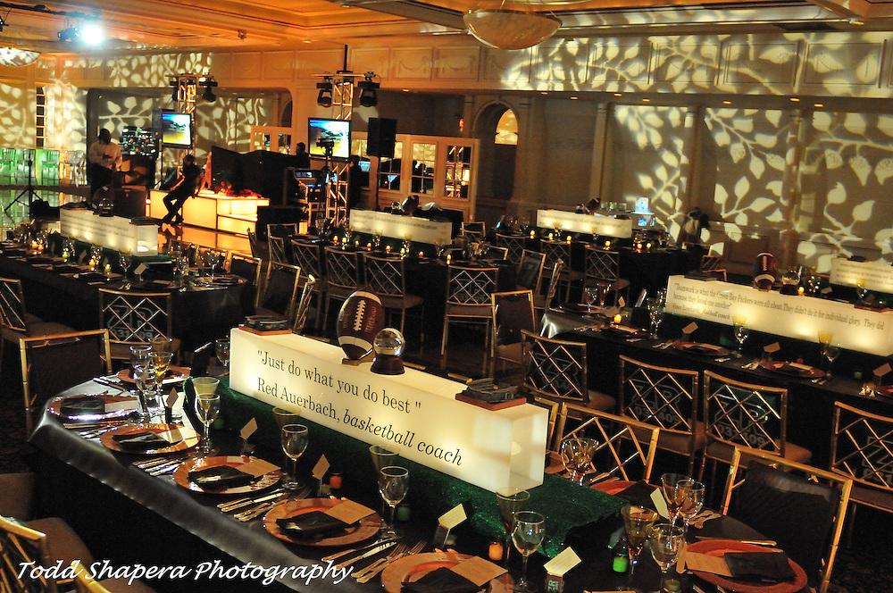 Fountainhead Decor.Rayman Bar Mitzvah.Andy Charles Planner