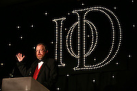 Bill Bryson, speaking at the IoD Annual Dinner.