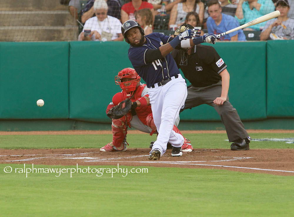 Ralph Mawyer/MiLB - San Antonio Missions hosted the Springfield Cardinals on July 8, 2015 at Nelson Wolff Stadium in San Antonio, TX. Photo: Ralph Mawyer Photography/MiLB.com<br /> Yeison Asencio
