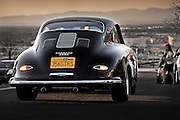 Image of a 1958 Porsche 356 Custom GT automobile in Los Angeles, California, American west coast