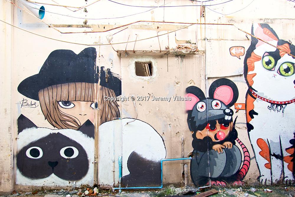 Bangkok Street Art, Charoen Krung 28