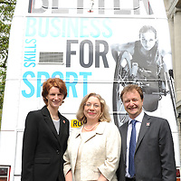 15.05.2012 .Image from launch of the PWC (PriceWaterhouse Coopers) and Sport England Learning Bus, outside the HQ of Sport England in Bloomsbury Square, London. .Mandatory Credit: © Blake Ezra Photography / www.blakeezraphotography.com .