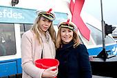 Nicolette en Angela op de Aidsfonds Liefdespont