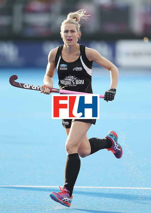 LONDON, ENGLAND - JUNE 21:  Stacey Michelsen of New Zealand during the FIH Women's Hockey Champions Trophy match between New Zealand and Great Britain at Queen Elizabeth Olympic Park on June 21, 2016 in London, England.  (Photo by Alex Morton/Getty Images)
