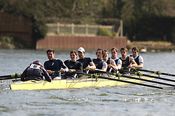 2012.02.25 Reading University Head 2012. The River Thames. Division 1. Reading Rowing Club IM1 8+