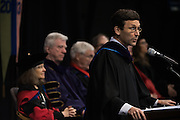 Washington State Attorney General Robert Ferguson delivered the keynote address at the Law School Commencement. (Gonzaga photo)