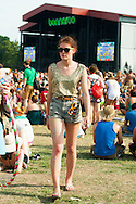 Star Spangled Top and Denim Shorts, Bonnaroo