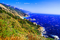 Big Sur coastline, Monterey County, California USA