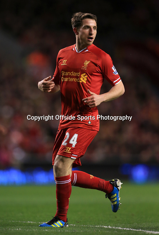 26th March 2014 - Barclays Premier League - Liverpool v Sunderland - Joe Allen of Liverpool - Photo: Simon Stacpoole / Offside.