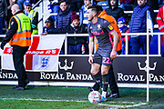 Leeds United midfielder Jack Harrison (22) during the EFL Sky Bet Championship match between Queens Park Rangers and Leeds United at the Kiyan Prince Foundation Stadium, London, England on 18 January 2020.