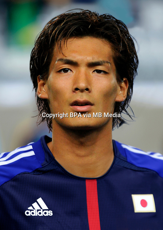 Football Fifa Brazil 2014 World Cup / <br /> Japan National Team - <br /> Tomoaki MAKINO of Japan