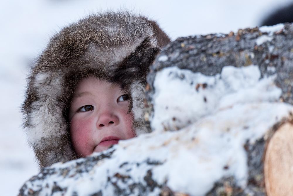 Nenzen Kinder, Polarural, Russland