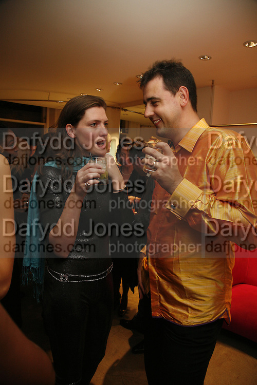 ELLIE THORNEYCROFT AND DAVID GRACHVOGEL, Maria Grachvogel 5th Anniversary of her  Sloane St store. 162 Sloane St. London. 19 October 2006. -DO NOT ARCHIVE-© Copyright Photograph by Dafydd Jones 66 Stockwell Park Rd. London SW9 0DA Tel 020 7733 0108 www.dafjones.com