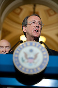 May 26, 2010 - Washington, District of Columbia, U.S., -  Former White House Chief of Staff, Erskine Bowles (Pictured) and Former Senator, Alan Simpson have been named as co-chairs of the National Commission on Fiscal Responsibilty and Reform..(Credit Image: © Pete Marovich/ZUMA Press)