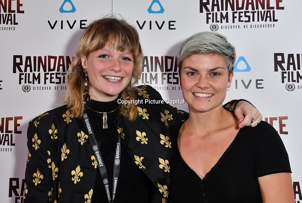 Chessie Lamb and Ana Marie Nominated attends the Raindance Film Festival - VR Awards, London, UK. 6 October 2018.
