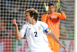16.06.2010, Versfeld-Stadion, Pretoria, RSA, FIFA WM 2010, RSA, FIFA WM 2010, Südafrika vs Uruguay im Bild Diego Lugano (Uruguay), EXPA Pictures © 2010, PhotoCredit: EXPA/ InsideFoto/ G. Perottino, ATTENTION! FOR AUSTRIA AND SLOVENIA ONLY!!! / SPORTIDA PHOTO AGENCY