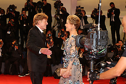 74 Mostra Venezia Film Festival Red carpet premio alla carriera a Jane Fonda, Robert Redford. 01 Sep 2017 Pictured: v. Photo credit: Fotogramma / MEGA TheMegaAgency.com +1 888 505 6342
