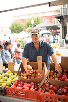 Photo by Sam Dean/ Festival goers at the Roanoke City Harvest Festival held in the historic Market Square, Sept. 28,2013.