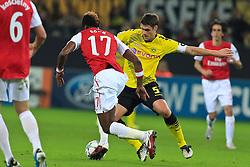 13.09.2011, Signal Iduna Park, Dortmund, GER, UEFA CL, Gruppe F, Borussia Dortmund (GER) vs Arsenal London (ENG), im Bild.Sebastian Kehl (Dortmund #5) (R) gegen Alex Song (Arsenal #17)..// during the UEFA CL, group F, Borussia Dortmund (GER) vs Arsenal London on 2011/09/13, at Signal Iduna Park, Dortmund, Germany. EXPA Pictures © 2011, PhotoCredit: EXPA/ nph/  Mueller       ****** out of GER / CRO  / BEL ******