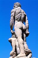 Italie, Toscane, Florence, Piazza della Signoria //  Statues, Piazza della Signoria, Florence, Tuscany, Italy