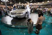 Seoul Motor Show 2005 at Korea International Exhibition Center (KINTEX). Daewoo Statesman.