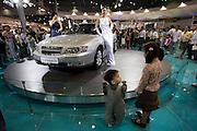 Seoul Motor Show 2005 at Korea International Exhibition Center (KINTEX). Daewoo Statesman.