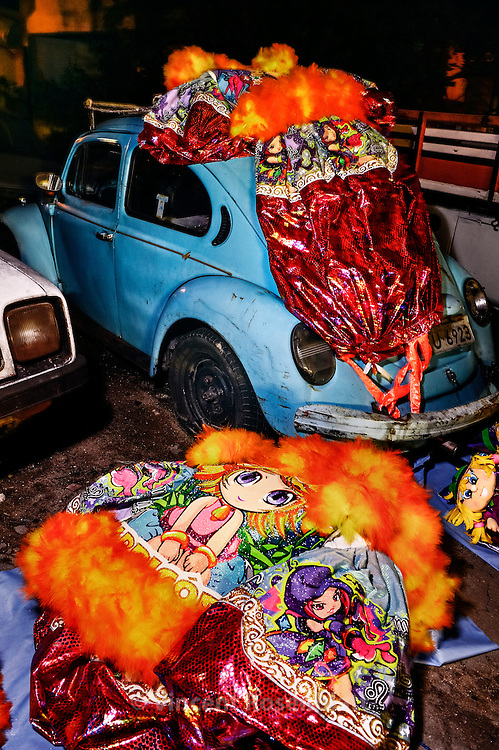 Last set up for the parade of the Enigma gang from Marechal Hermes district, zona norte of Rio de Janeiro, full of art and details.