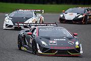 #33 James Sofronas / Lawrence Holden, GMG Racing, Lamborghini of Beverly Hills, #63 Richard Antinucci, Change Racing, Lamborghini of the Carolinas