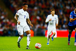 Nathaniel Clyne of England in action - Mandatory byline: Jason Brown/JMP - 07966 386802 - 09/10/2015- FOOTBALL - Wembley Stadium - London, England - England v Estonia - Euro 2016 Qualifying - Group E