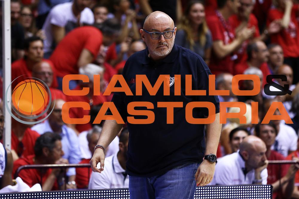 Matteo Boniciolli<br /> Alma Trieste - SKontatto Foritutdo Bologna<br /> Campionato Basket LNP 2016/2017<br /> Play Off Semifinali Gara 5<br /> Trieste 08/06/2017<br /> Foto Ciamillo-Castoria/A.Gilardi