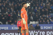 Ben Foster (26) during the Premier League match between Leicester City and Watford at the King Power Stadium, Leicester, England on 4 December 2019.