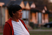 IDA MORRIS looks across the street from her home where a giant spider web popped up, overnight, last week. She said she had never seen anything like it in the 34 years she lived there.  Neighbors are finally finding relief after spiders infested their north Memphis neighborhood and homes last week. Residents reported dozens, hundreds, thousands, millions and even billions of spiders in their neighborhood after a spider web surfaced last Thursday in a field near their homes. They went to the media asking for help eradicating what was described as a spider web that was a half of a mile long, and by some, said to be as long as two football fields.  Residents  struggled to kill the creepy eight legged spiders in their homes too before Terminex  offered their services free of charge after hearing about the problem.