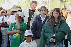 A bilionaria francesa Athina Onassis com o marido brasileiro, o ginete Álvaro Affonso de Miranda Neto, o Doda, durante  XXXV Concurso de Saltos Internacional Cidade de Porto Alegre, tambem conhecido como The Best Jump. FOTO: Jefferson Bernardes/Preview.com