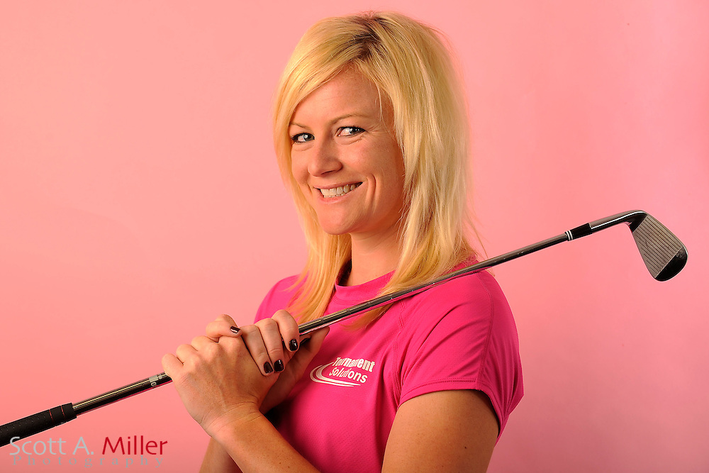 Nicole Smith during a portrait shoot prior to the Symetra Tour's Florida's Natural Charity Classic at the Lake Region Yacht and Country Club on March 21, 2012 in Winter Haven, Fla. ..©2012 Scott A. Miller.