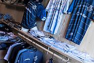 FODBOLD: FC Helsingør's fanshop er åben før kampen i ALKA Superligaen mellem FC Helsingør og FC Nordsjælland den 18. marts 2018 på Helsingør Stadion. Foto: Claus Birch.