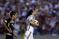 20091202: RIO DE JANEIRO, BRAZIL - South-American Cup 2009, Final: Fluminense vs LDU Quito. In picture: Fred (Fluminense) celebrating goal. PHOTO: CITYFILES
