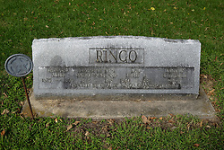 31 August 2017:   Veterans graves in Cheneys Grove Township Cemetery in eastern McLean County.<br /> <br /> Allen Ringo  1825 - 1865