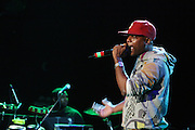 Talib Kweli at The Common and Friends Benefit concert for The Common Ground Foundation held at  The House of Blues in Chicago on September 26, 2008..The Common Ground Foundation was created by Hip Hop artist, actor and children?s author Lonnie Rashid Lynn, known as ?Common?. Common?s social-conscience message serves as inspiration for equality, opportunity and hope among youth in underserved communities. The Foundation is committed to empowering youth in urban neighborhoods and providing life skills needed to achieve their dreams..