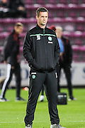 Celtic FC Manager Ronnie Deila during the Scottish League Cup presented by Ulilita Energy quarter final match between Heart of Midlothian and Celtic at Tynecastle Stadium, Gorgie, Scotland on 28 October 2015. Photo by Craig McAllister.