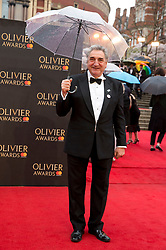 Jim Carter arriving for The Olivier Awards at the Royal Albert Hall in London.