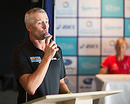 Pete Murray (AUS). Pre Race Press Conference. 2013 Noosa Triathlon Festival. Cairns, Queensland, Australia. 01/11/2013. Photo By Lucas Wroe