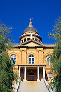 The Placer County Courthouse in Auburn, Gold Country  (Highway 49), California