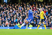 Chelsea goal scorer Ruben Loftus-Cheek during the The FA Cup third round match between Chelsea and Scunthorpe United at Stamford Bridge, London, England on 10 January 2016. Photo by Shane Healey.
