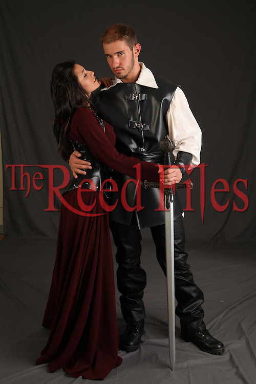 The Reed Files: Medieval Couple Stock