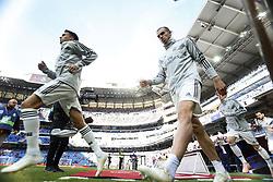 November 3, 2018 - Madrid, Madrid, Spain - Gareth Bale (Real Madrid)  seen warming up before the La Liga match between Real Madrid and Real Valladolid at the Estadio Santiago Bernabéu..Final score Real Madrid 2-0 Valladolid. (Credit Image: © Manu Reino/SOPA Images via ZUMA Wire)